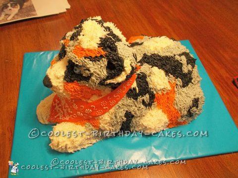 Awesome Australian Shepherd Puppy Cake