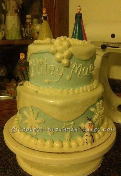 Coolest Frozen Birthday Cake