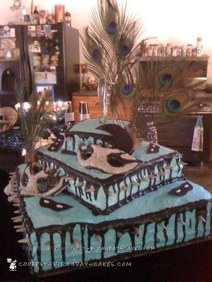 Coolest Gothic Wedding Cake