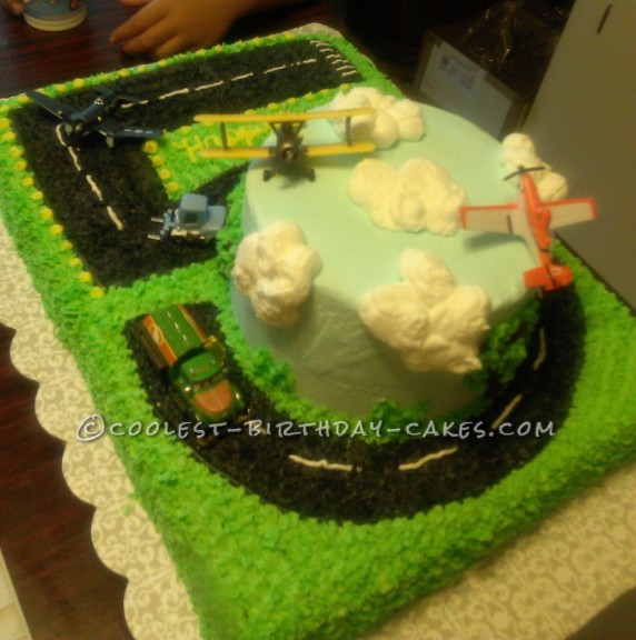 Coolest Planes Birthday Cake