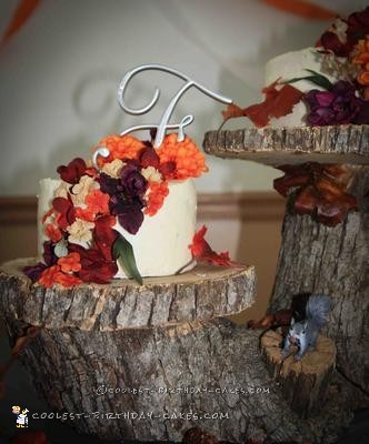 Cool Country Wedding Cake