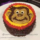1st Birthday Curious George Cake and Smash Cake