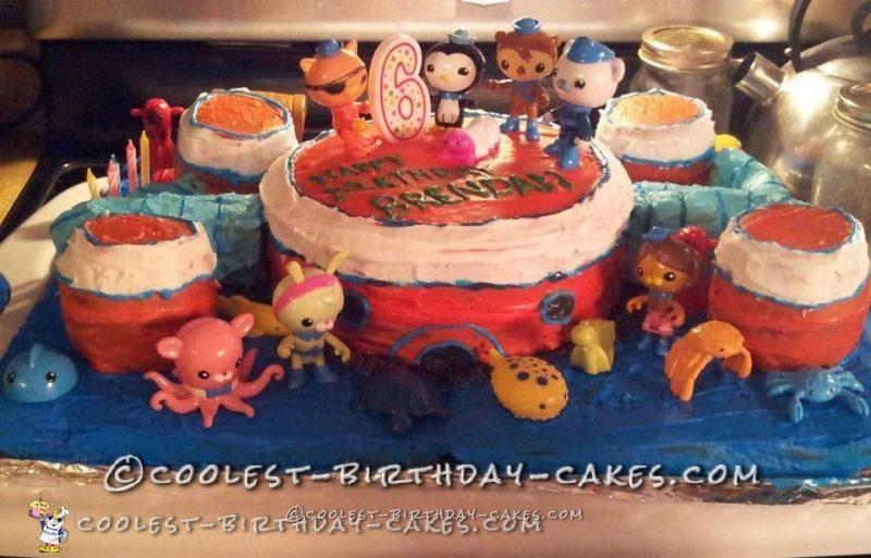 6th Birthday Octonauts Cake