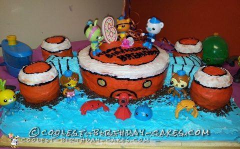 6th Birthday Octonauts Cake