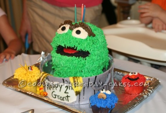 Wondrous 330 Coolest Homemade Sesame Street Birthday Cakes Funny Birthday Cards Online Eattedamsfinfo