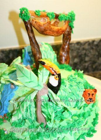 Coolest Rainforest Animals Cake