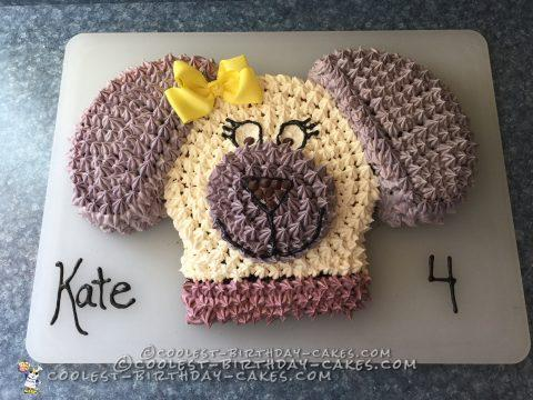 Super Cute Doggie Cake