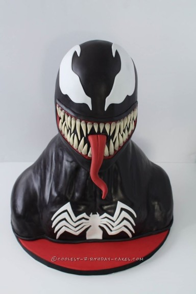 Coolest Ever 3D Sculpted Venom Cake