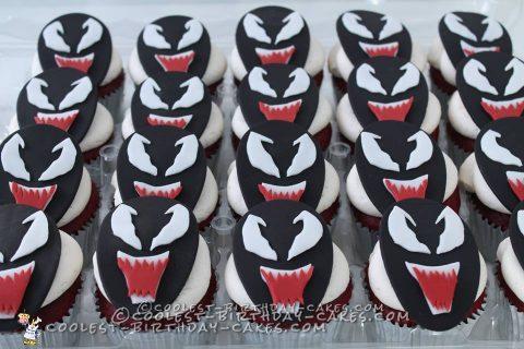 Coolest Ever 3D Sculpted Venom Cake