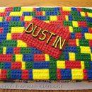 Coolest Buttercream Lego Cake