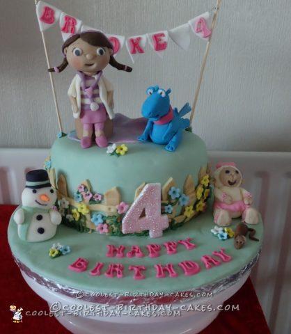Coolest Doc McStuffins Cake for My Granddaughter