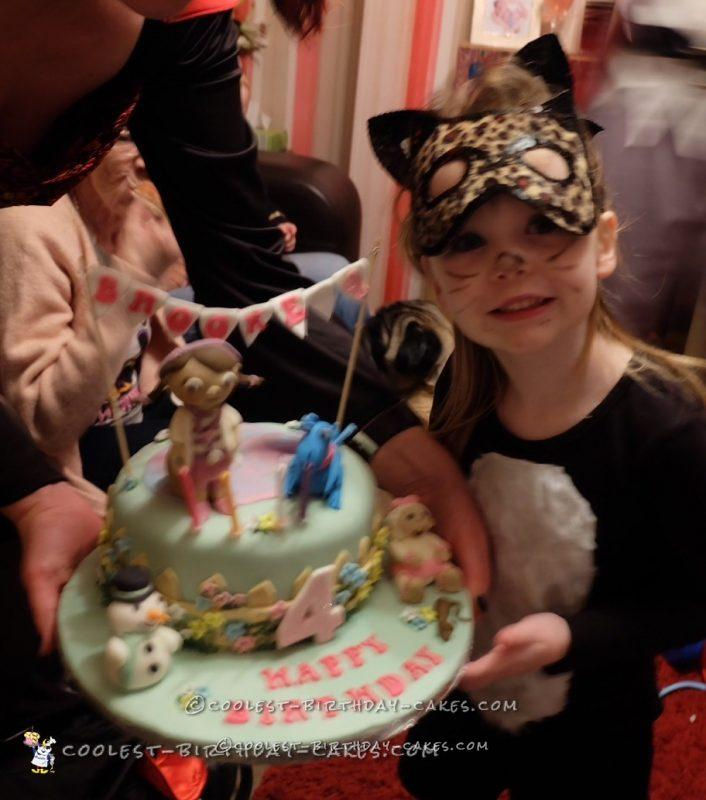 Coolest Doc McStuffins Cake