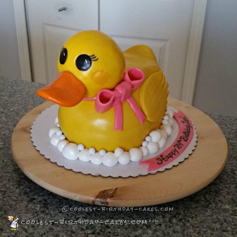 Cutest Rubber Ducky Cake