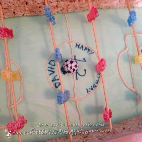 Coolest Ever Foosball Cake