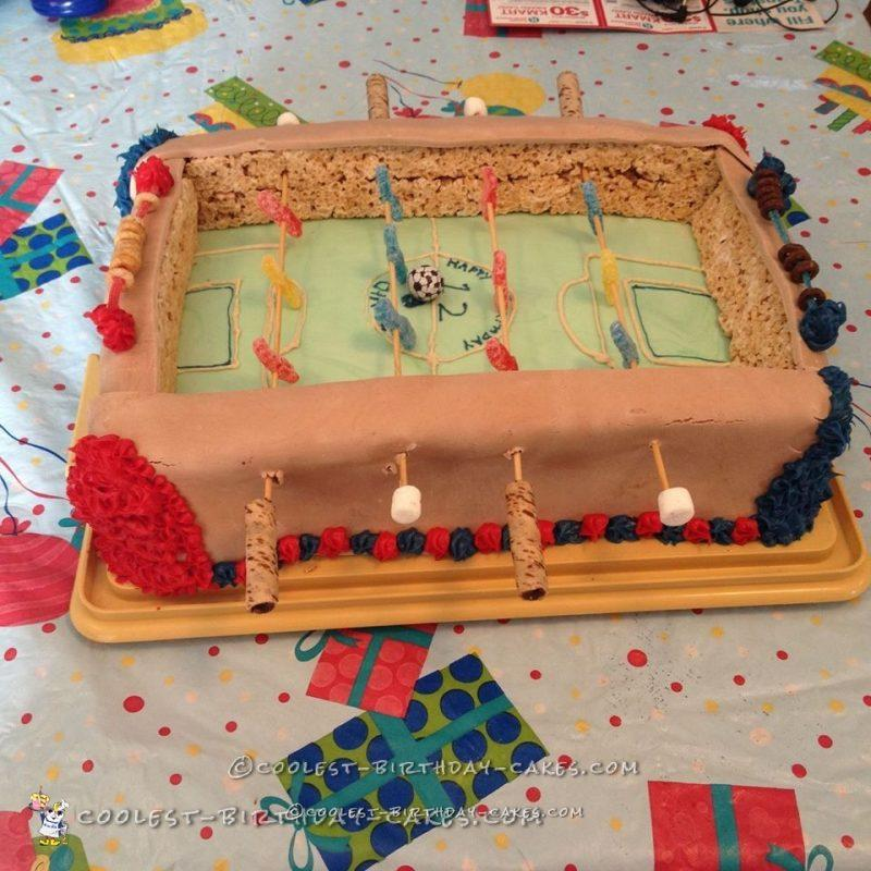 Coolest Ever Foosball Cake