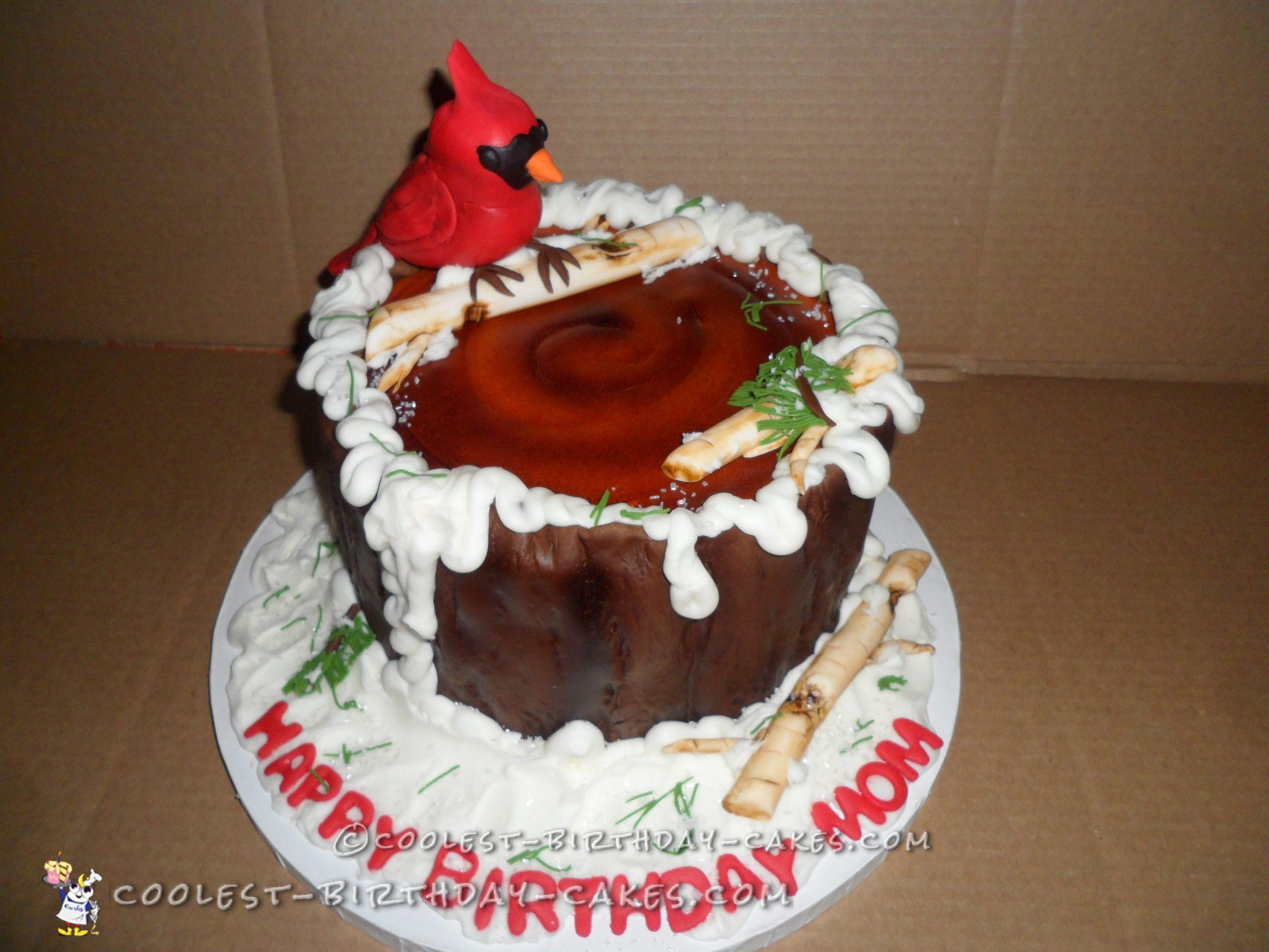Cool Cardinal Cake