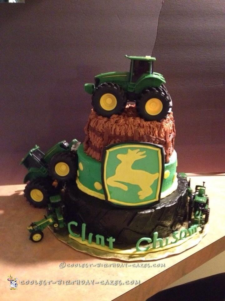 Coolest John Deere Cake