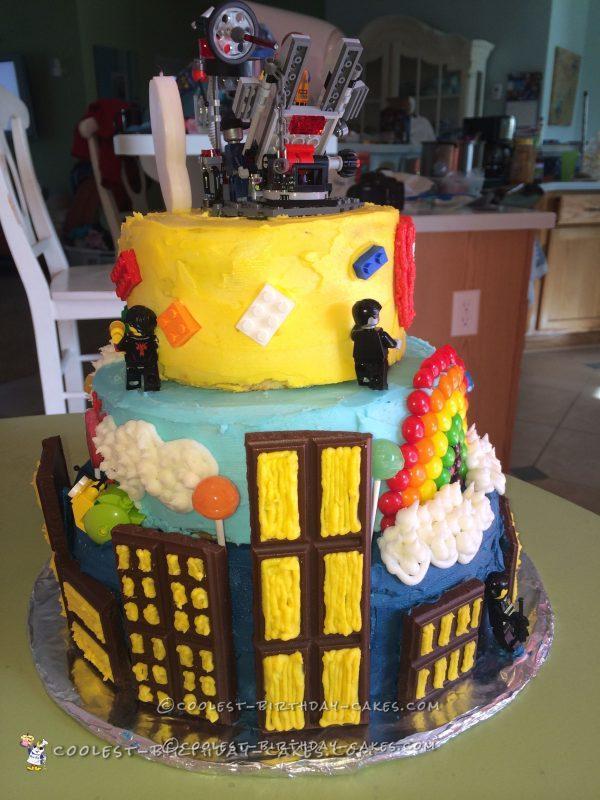 Coolest LEGO Movie Cake