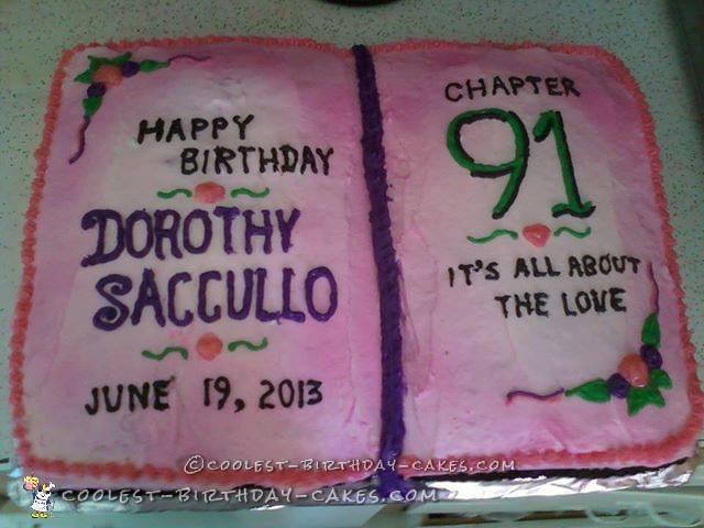 Gramma Dorothy's 91st Birthday Cake