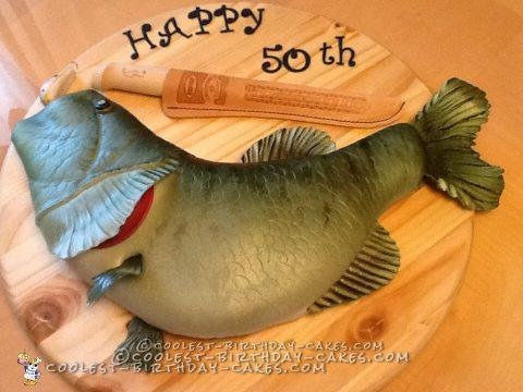 Coolest Fish Shaped Cake