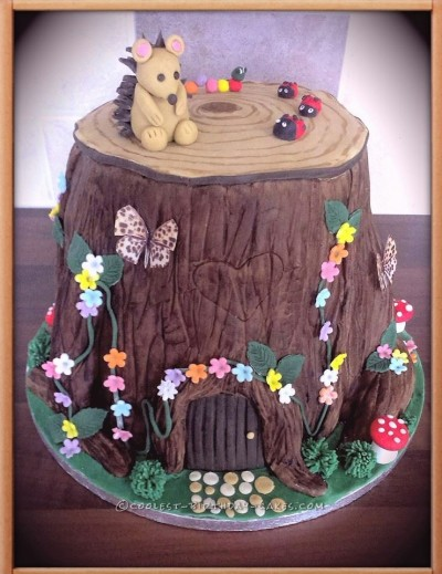 Cool Magical Woodland Cake