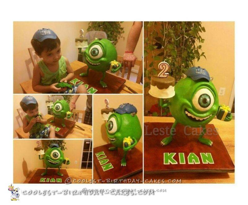 Coolest Mike from Monsters Inc Cake