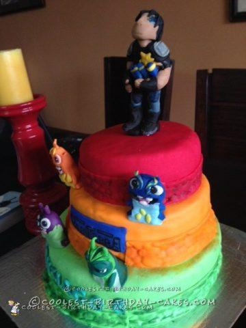 Coolest Bajo Slugterra Cake for a 6 Year Old Boy