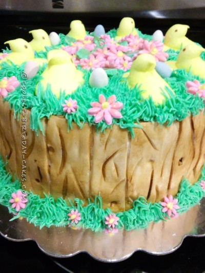 Spring Easter Themed Cake