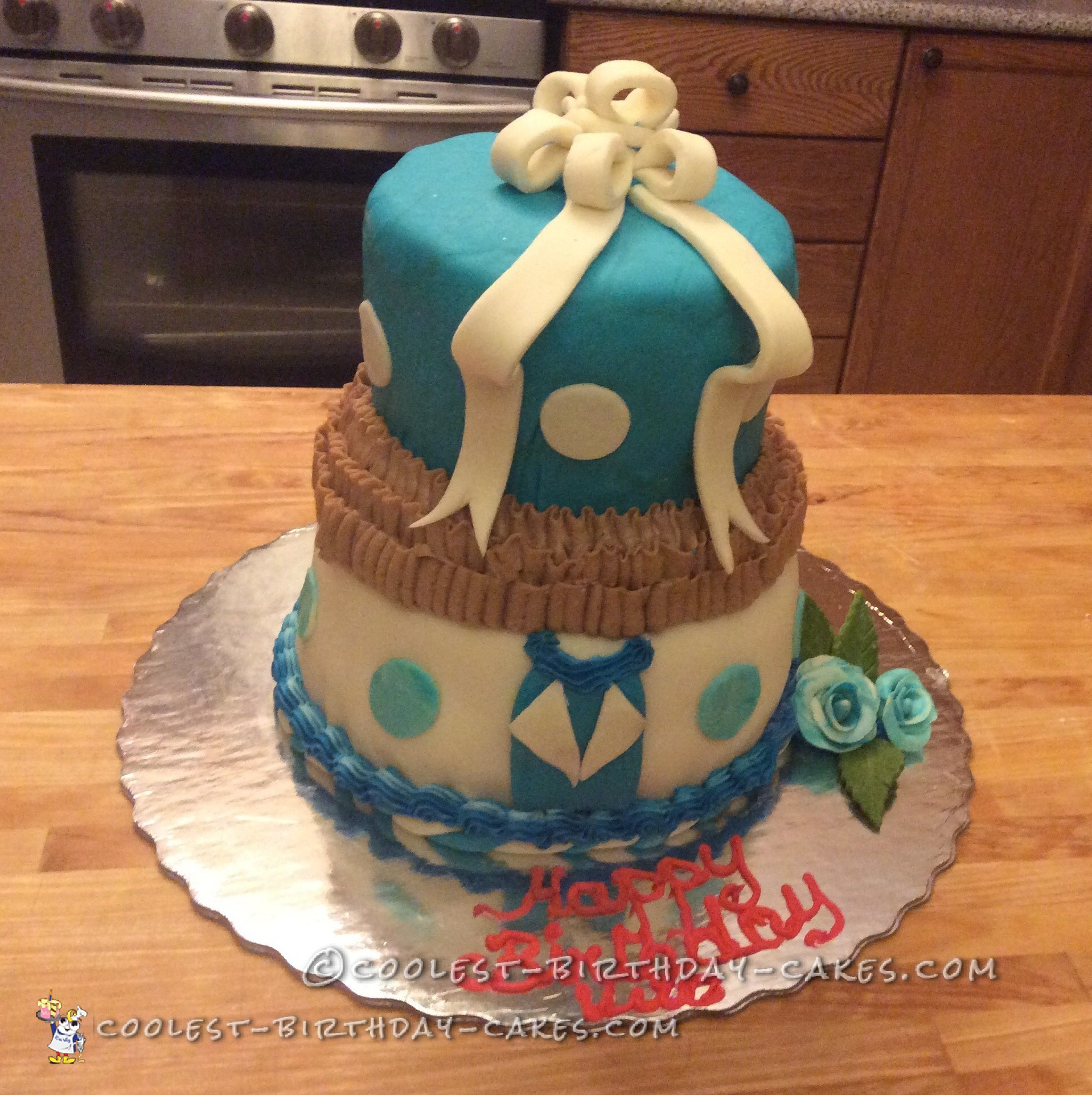 I Recently Joined A Cake Decorating Class At Michaels And Have Learn Lot My Husbands Birthday Was Coming Up Wanted To Make Two Layer