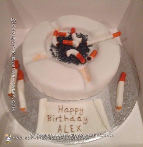 Coolest Ashtray Cake