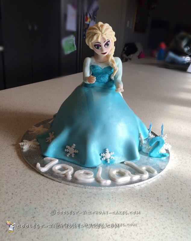 Elsa Cake Decoration Ideas : Coolest Elsa Cake