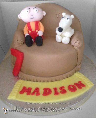 Coolest Family Guy Cake