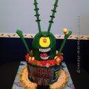 Coolest 3D Plankton Cake