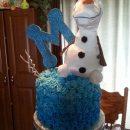Coolest Frozen Olaf Cake