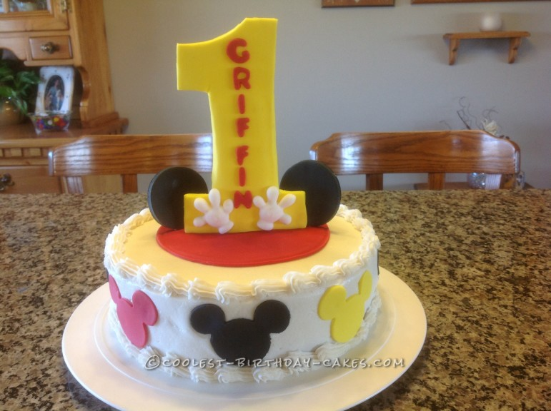 Super Coolest Homemade Number One 1St Birthday Cakes Personalised Birthday Cards Cominlily Jamesorg