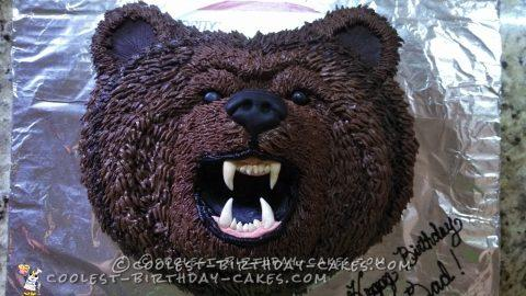 Native American Bear Clan Birthday Cake