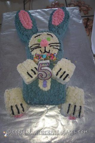 Birthday Bunny Cake Worth the Aggravation