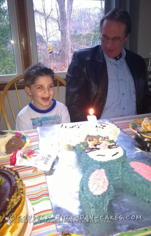 Birthday Bunny Cake Worth the Aggravation