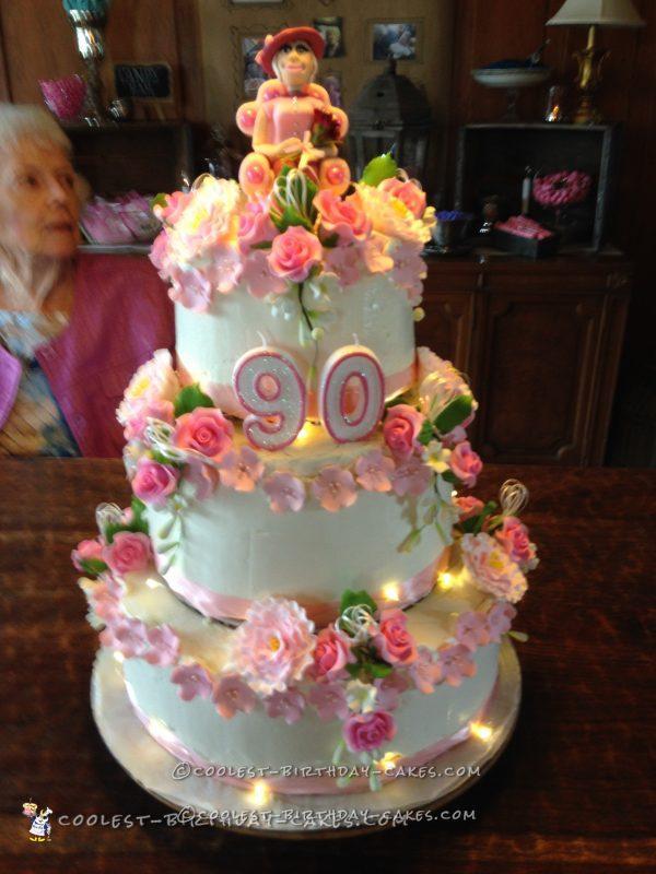 90th Birthday Cake For Mom