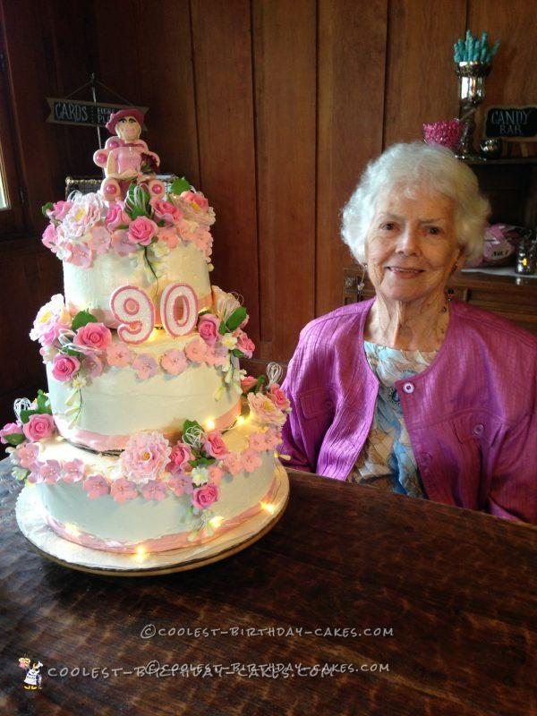 90th Birthday Cake for Mom