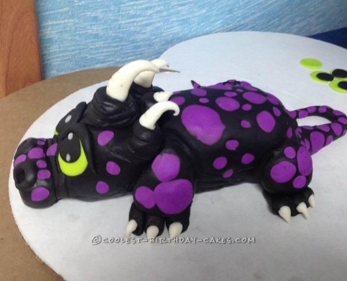 Coolest Baby Dragon Cake