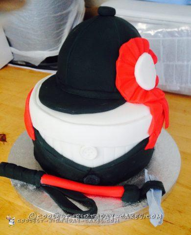 Coolest Horse Riding Gear Cake