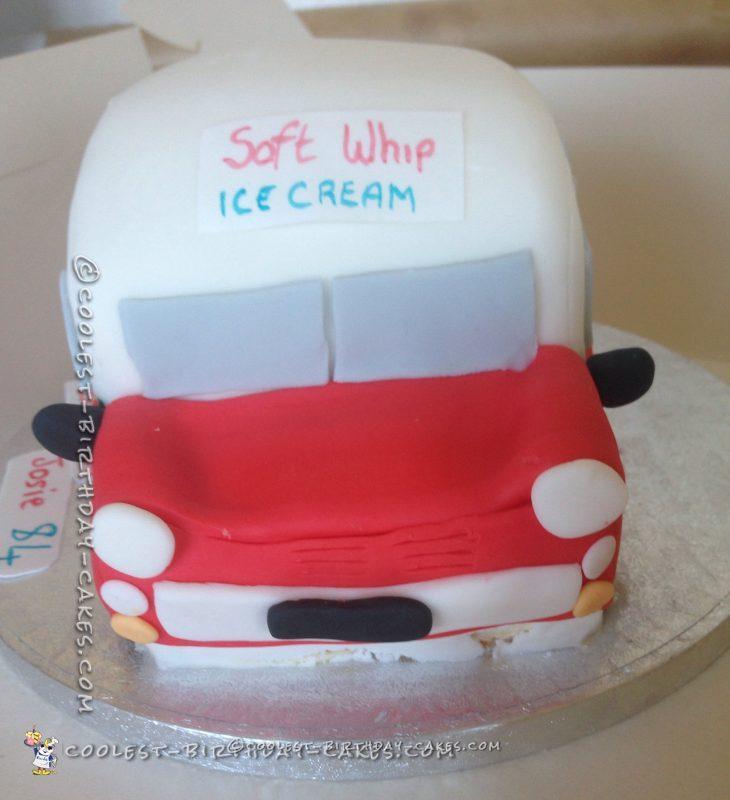 Coolest Ice Cream Truck Cake