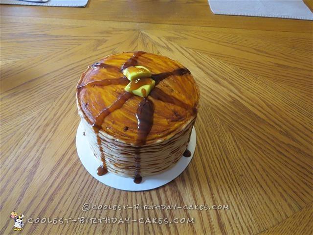 Coolest Pancake Birthday Cake