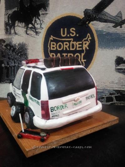 Coolest US Border Patrol Cake