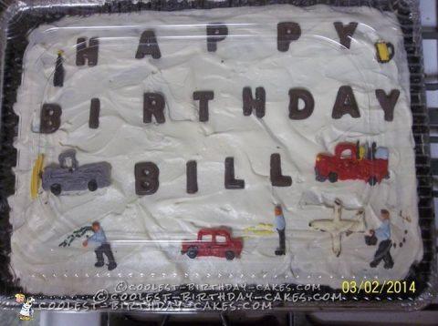 Wild Bill Adventures 60th Birthday Cake