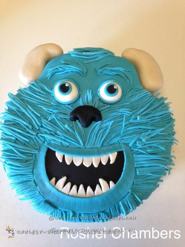 Call Me Sulley Monsters Inc. Birthday Cake