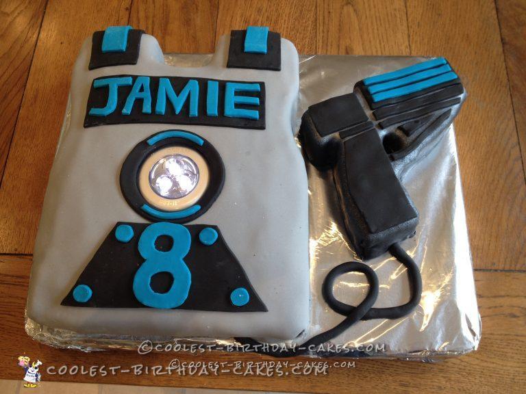 Cool Laser Combat Cake