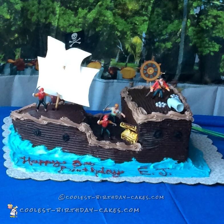 ahoy matey cake ideas