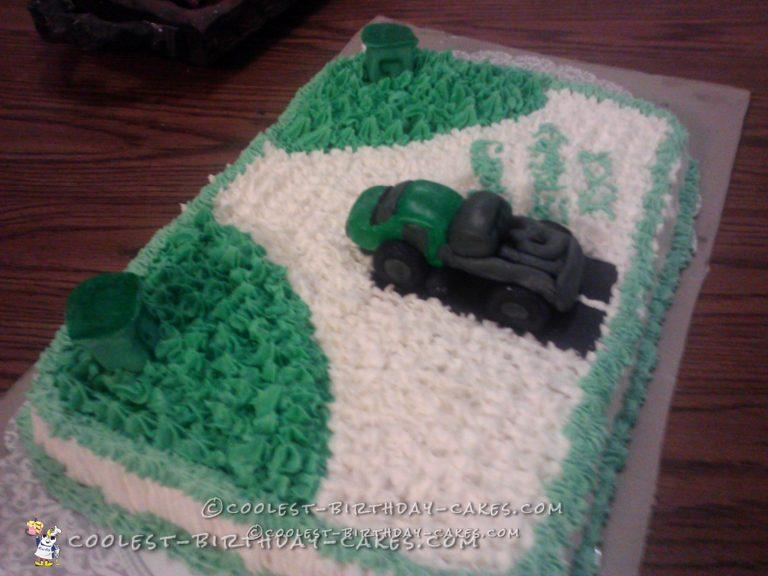 Priceless Port-a-John Birthday Cake